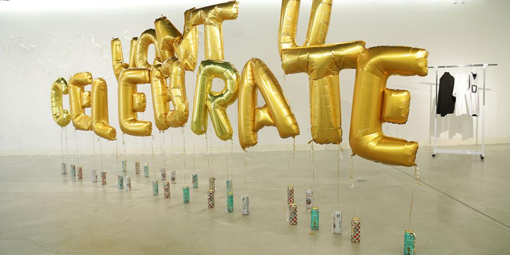 """Won't U,"" an installation by Jay Katelansky."