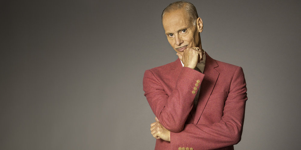 John Waters speaks on October 15 as part of the Distinguished Lecture Series.