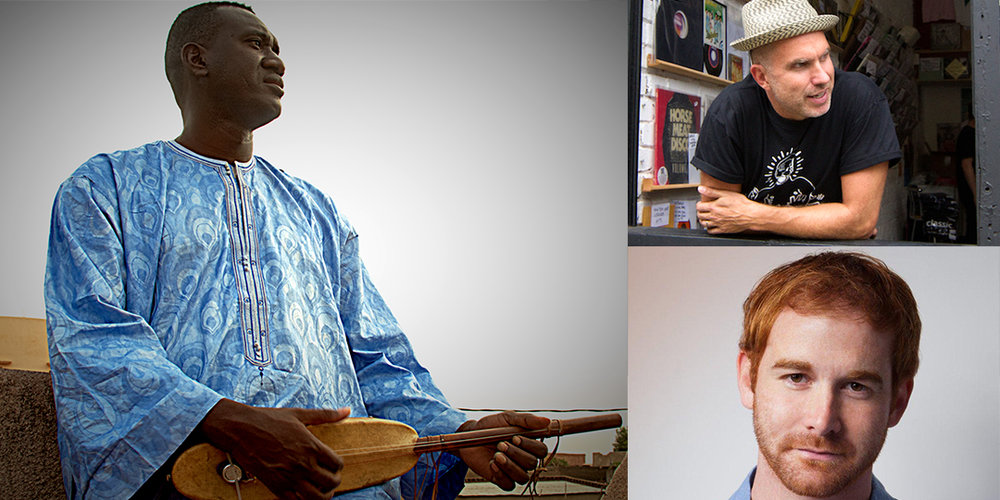 Clockwise from left: Bassekou Kouyate And Ngoni Ba play August 15 and 16 at Central Park; Luke Solomon DJs August 14 at the Cardinal Bar; and Andrew Santino plays August 13 through 15 at the Comedy Club on State.