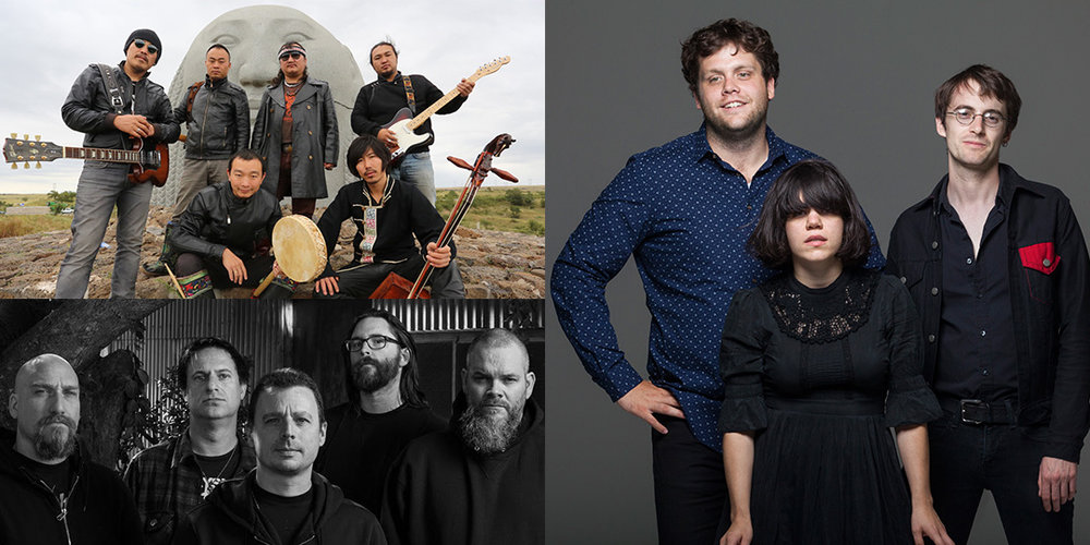 Clockwise from bottom left: Neurosis plays the Majestic on August 2, Hanggai plays Olbrich Park on July 30, and Screaming Females plays The Frequency on July 31.