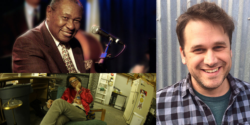 Clockwise from top left: Freddy Cole plays the Union Theater on June 20; Dean Bakopoulos reads at Room of One's Own on June 20; and Drainolith plays Mickey's Tavern on June 21.