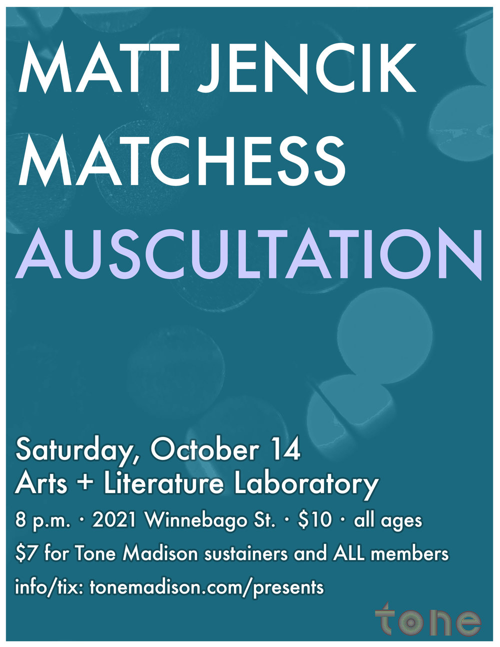 10/14/2017: Matt Jencik, Matchess, Auscultation
