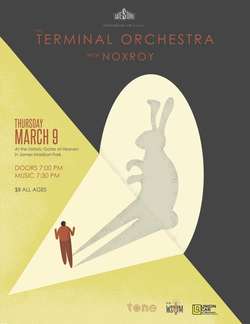 3/9/2017: The Terminal Orchestra, knowsthetime, Noxroy