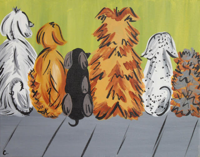 The painting we will be making at the DAWG Painted Cabernet Event on Wednesday, March 27th at 6pm. Get your tickets,    here   !