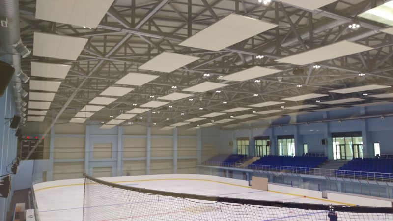 Ice Rink Stadium  Armenia (Acoustic Baffle)