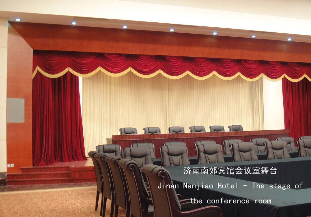 Jinan Nanjiao Hotel Conference Room Stage
