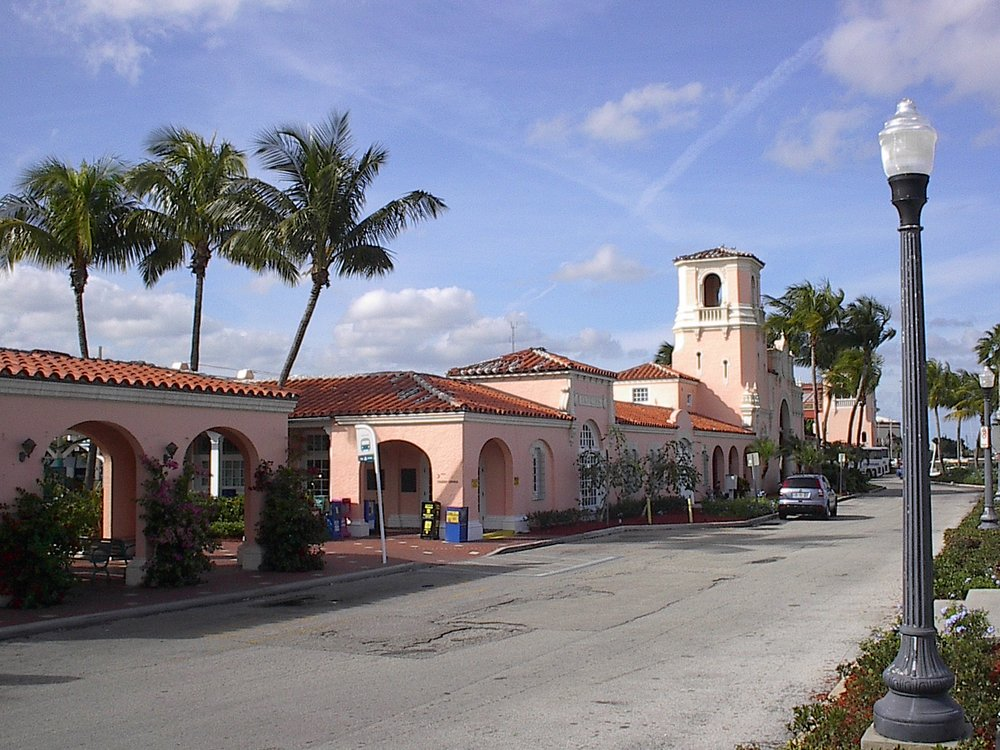 City of West Palm Beach  HISTORIC SEABOARD TRAIN STATION RECONSTRUCTION