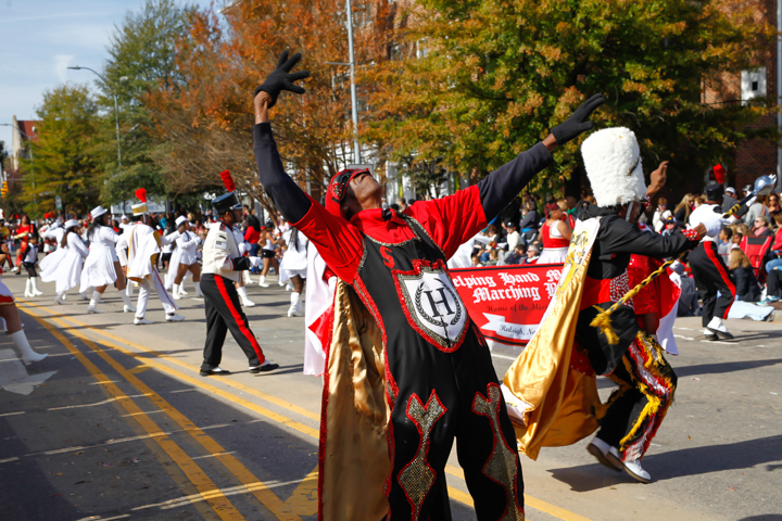 november 18 2017 raleigh christmas parade the helping hand mission band 365