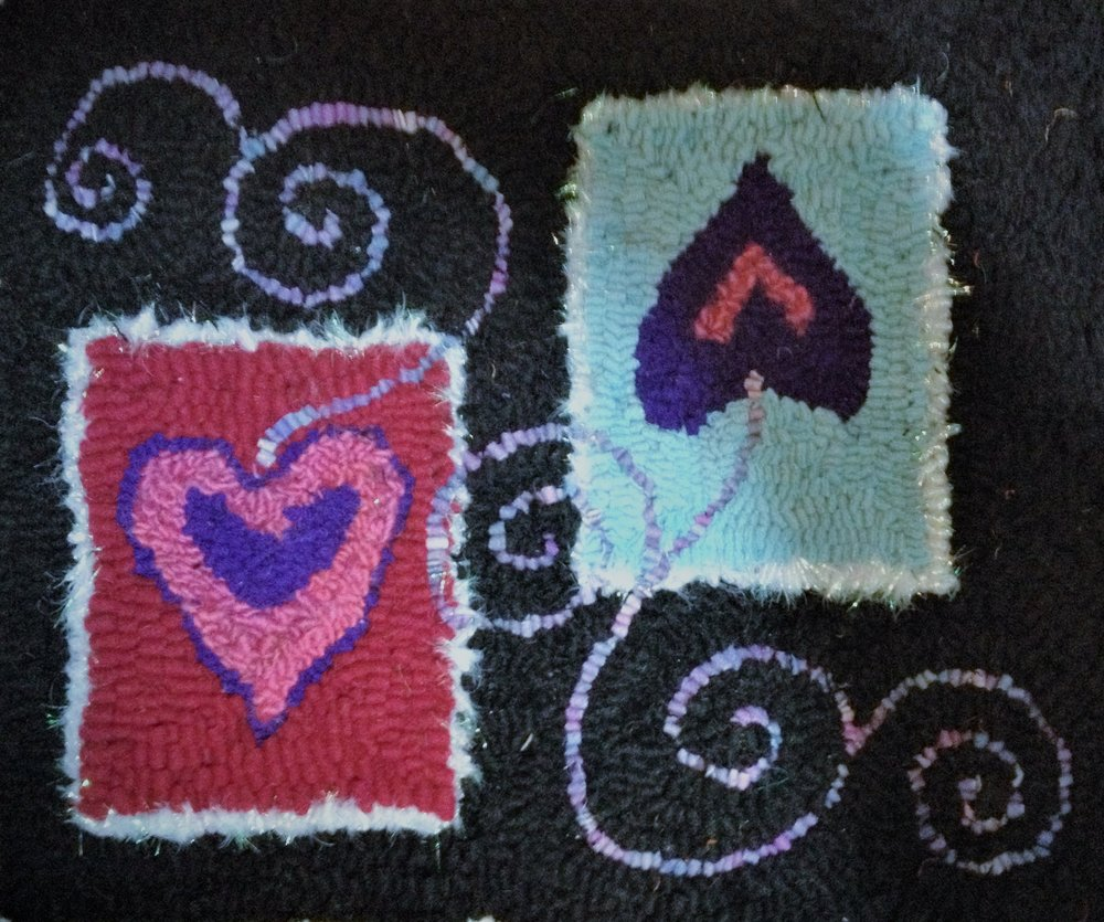 Double Hearts - * Sold