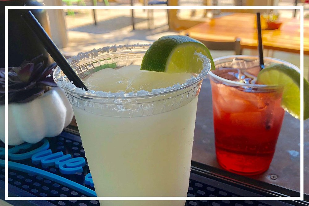 PATIO SIDE. DRINK IN HAND. - With a fun, eclectic vibe and a full bar featuring specialty drinks, our patio will be THE place to get your seafood fixVIEW MENU