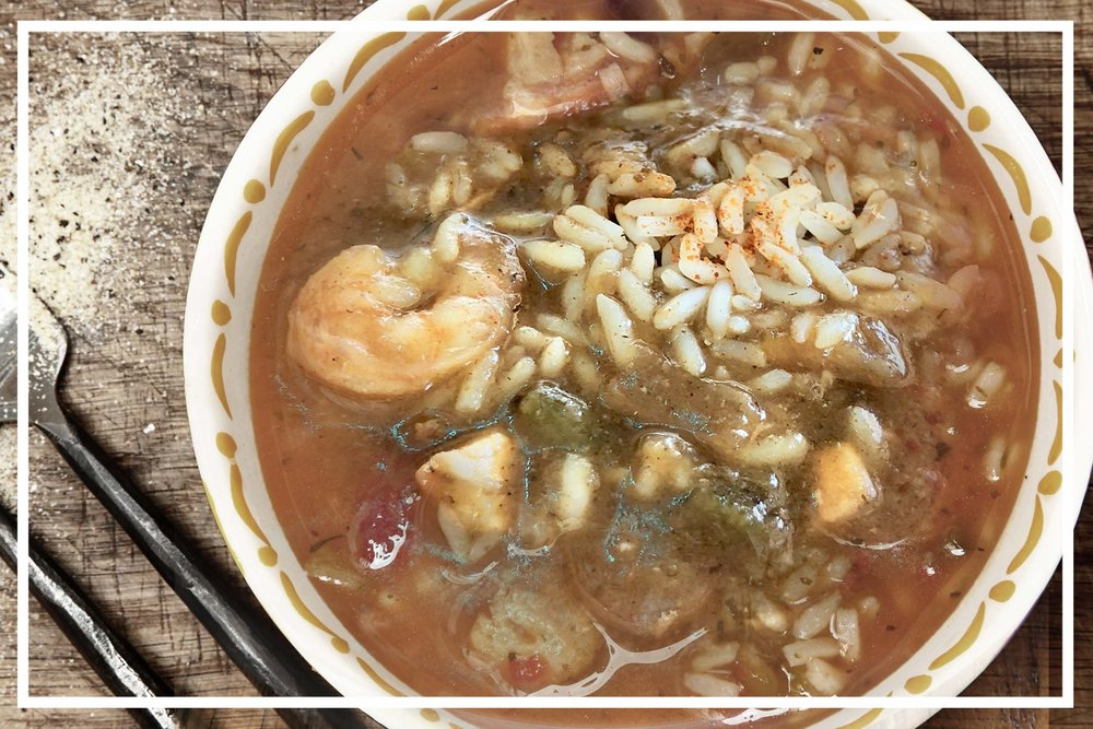 GET YOUR SEAFOOD FIX. - Speaking of Cajun-style fare....Our signature Gumbo. 100% Delicious.VIEW MENU