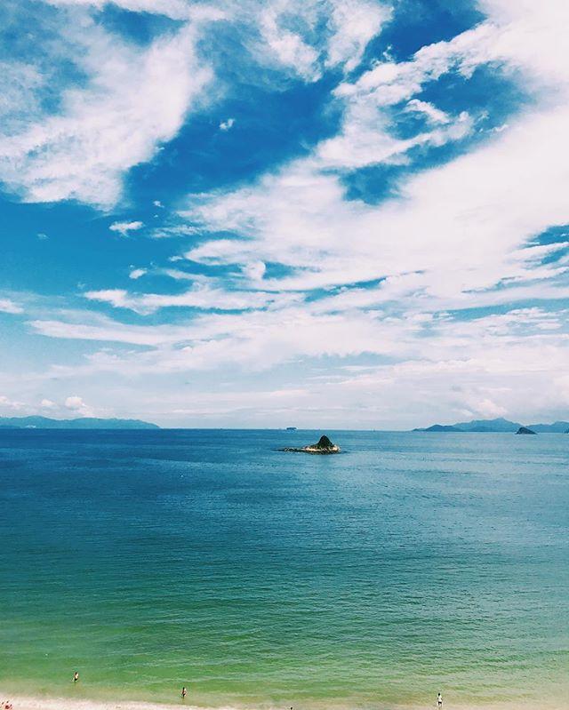 Can't breathe if I can't see the blue sky. 深圳这一抹蓝,瞬间治愈回国以来的焦躁和烦恼