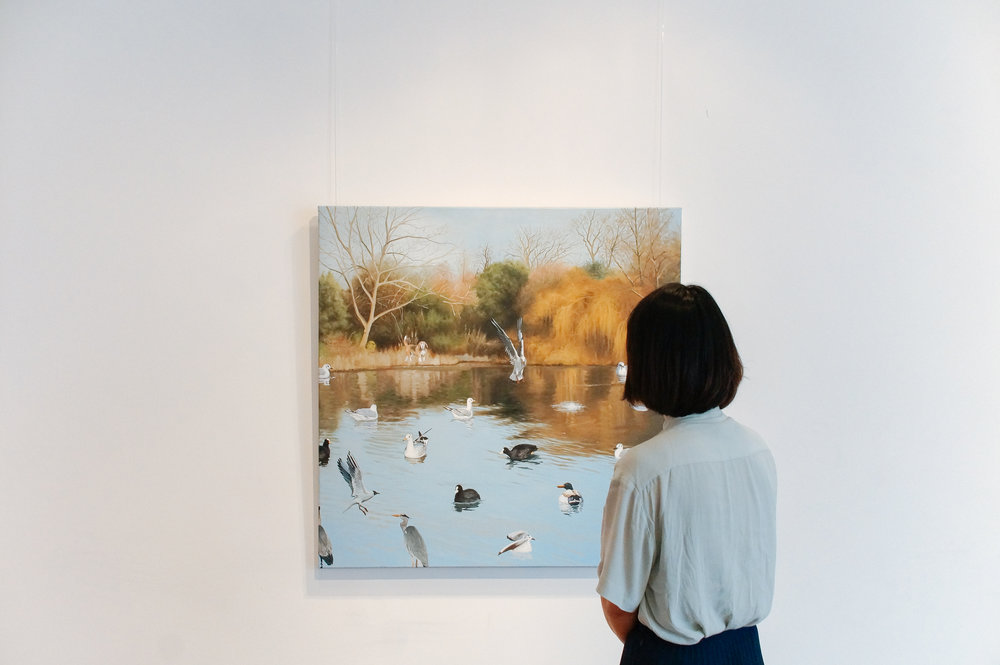 'Battersea friends' by Song-kook Kim