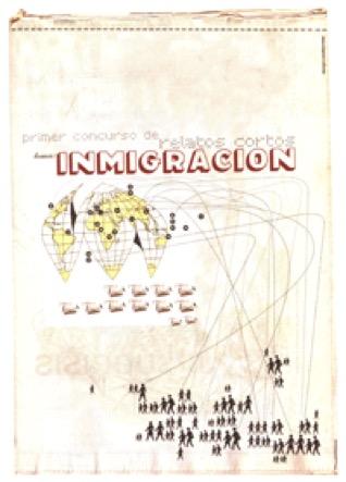"""2004 - El primer concurso de la Fundación el Compromiso tuvo como título la Inmigración. El ganador, en este caso """"Malena"""" y los relatos seleccionados, se recogen en el libro publicado y de venta en la propia Fundación y en los centros del Corte Inglés de Madrid."""