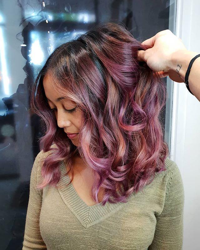 Creative Contrast Balayage colour @cjcapuano cut/styled @hair_bynadinebehrendt @wellapro_anz @oribeaustralia