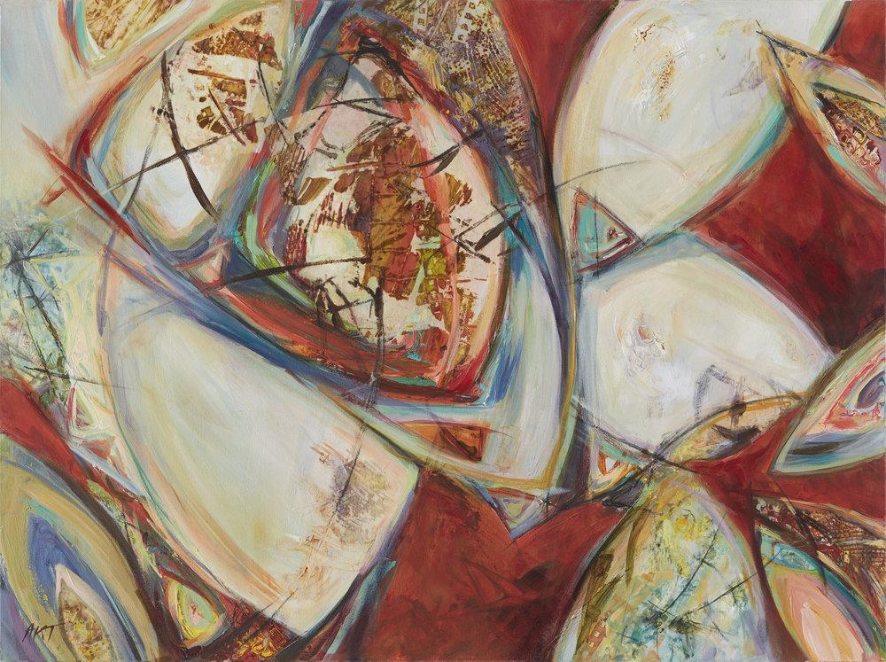 Force of Nature by abstract artist, Amy Tillotson, Saint Paul, Minnesota, St. Paul Artist, Minnesota Artist, Abstract Artist from Minnesota