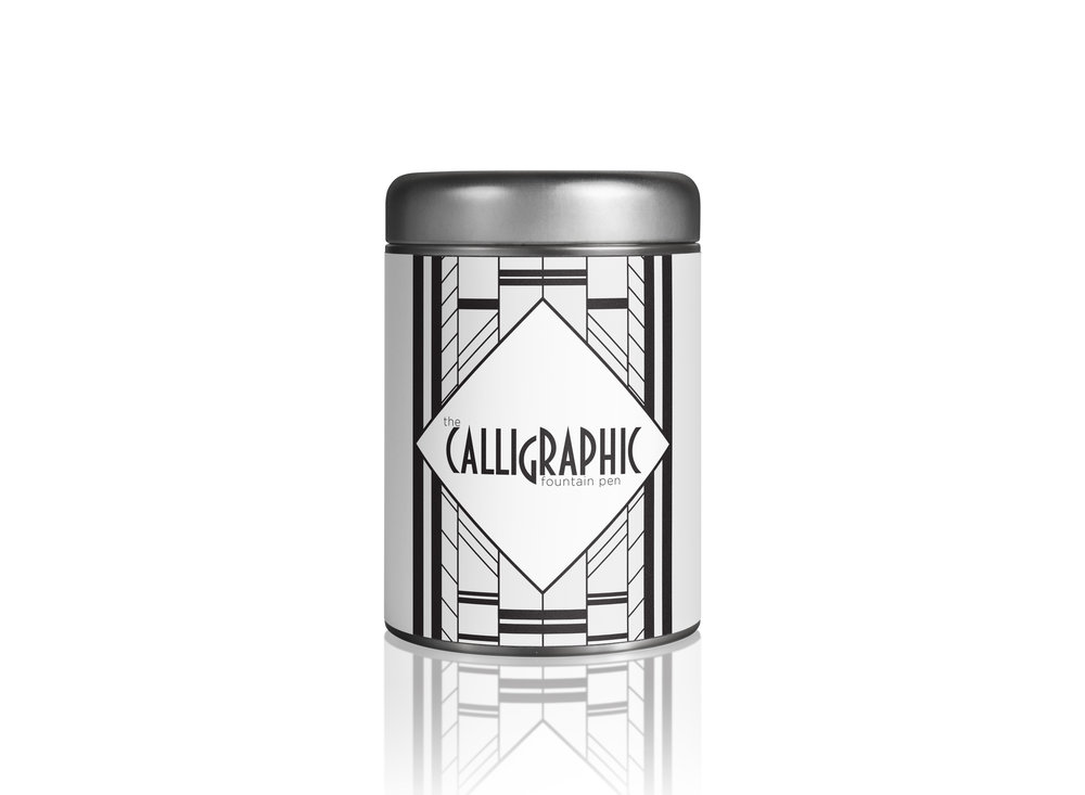 Calligraphic Brand - Pen Canister