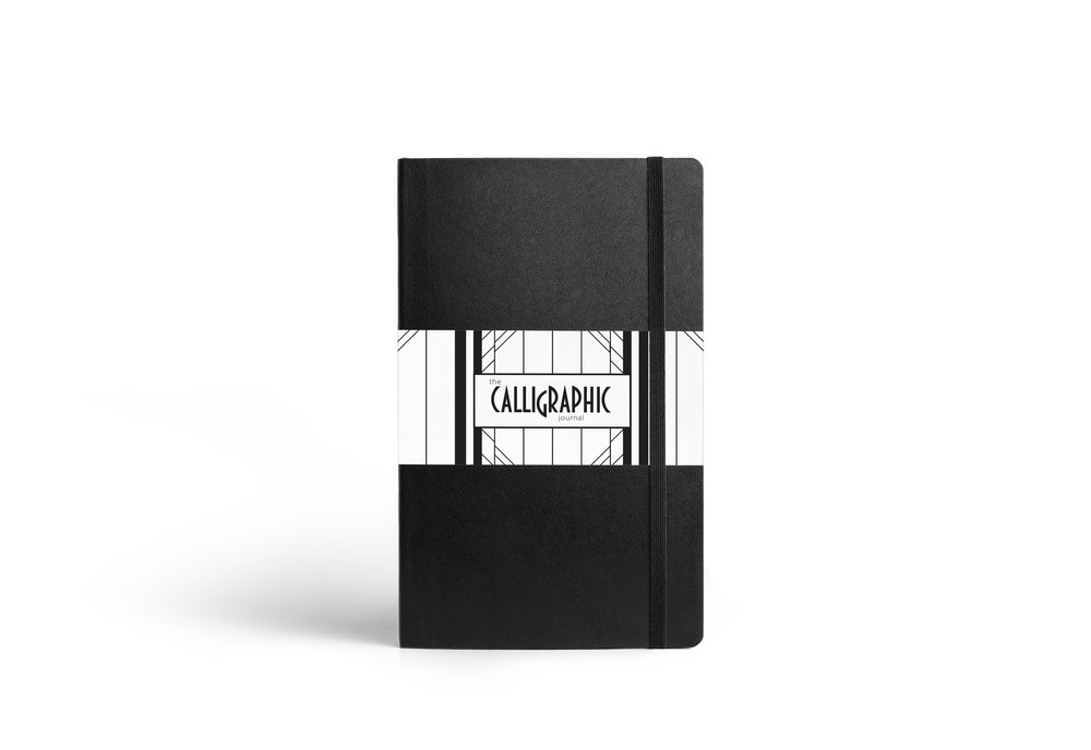 Calligraphic Brand - Journal Wrap