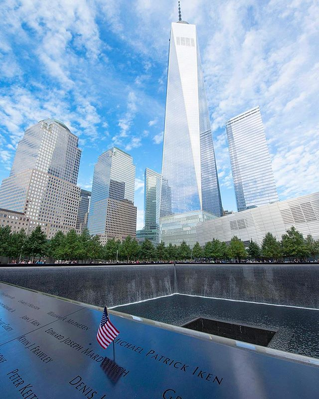 Today we remember the nearly 3,000 souls we lost 16 years ago, and the loving families they left behind, as well as the thousands of heroes, both in uniform and not, who risked their lives to save others. We will #NeverForget 🇺🇸