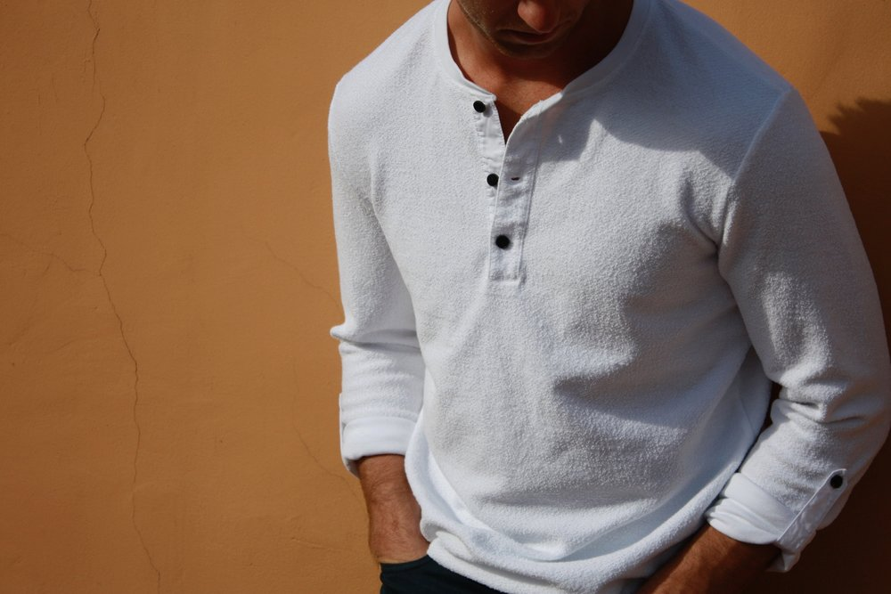 The Henley - Style, Comfort, Presence.$59