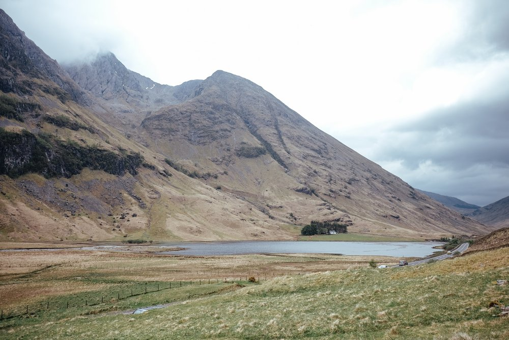 Day 4 Glencoe - Blackrock Cottage > Glen Etive > Castle Stalker