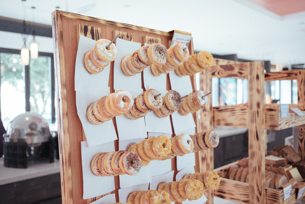 The mini doughnut board