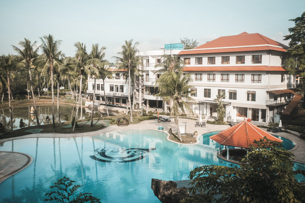 Swimming Pool & Main Building