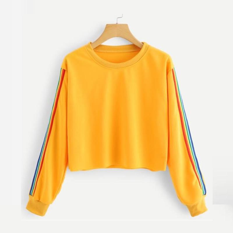 Rainbow Stripe Long Sleeve Crop Top.jpg