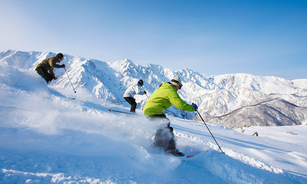 ski-in-nagano