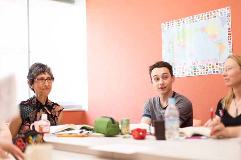 Speaking course at GenkiJACS