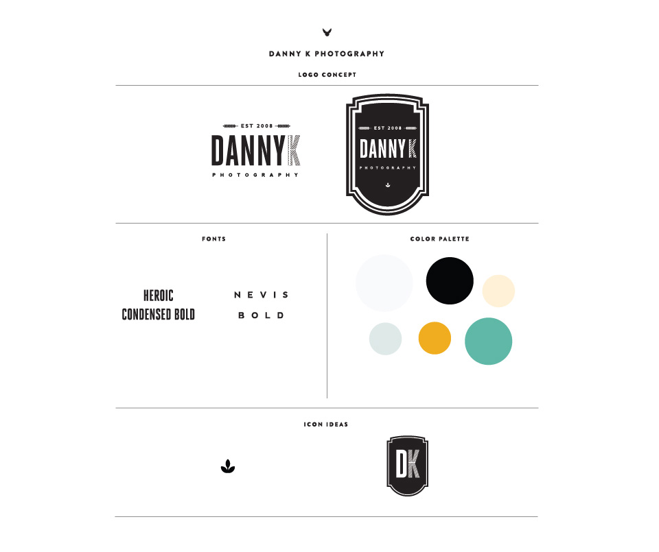 Danny K Photography's Brand Board