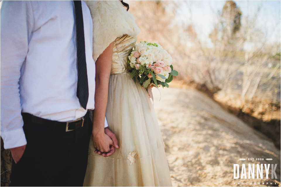 Destination styled wedding photos outside Las Vegas, NV