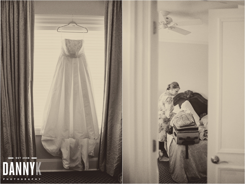Emily Gasson getting ready at The Inn at Ole Miss for her Wedding Photography