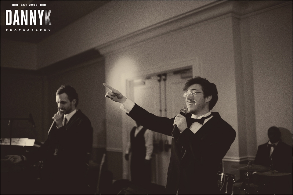 King Kobraz perform at the wedding of Emily Gasson and Josh Lawrence