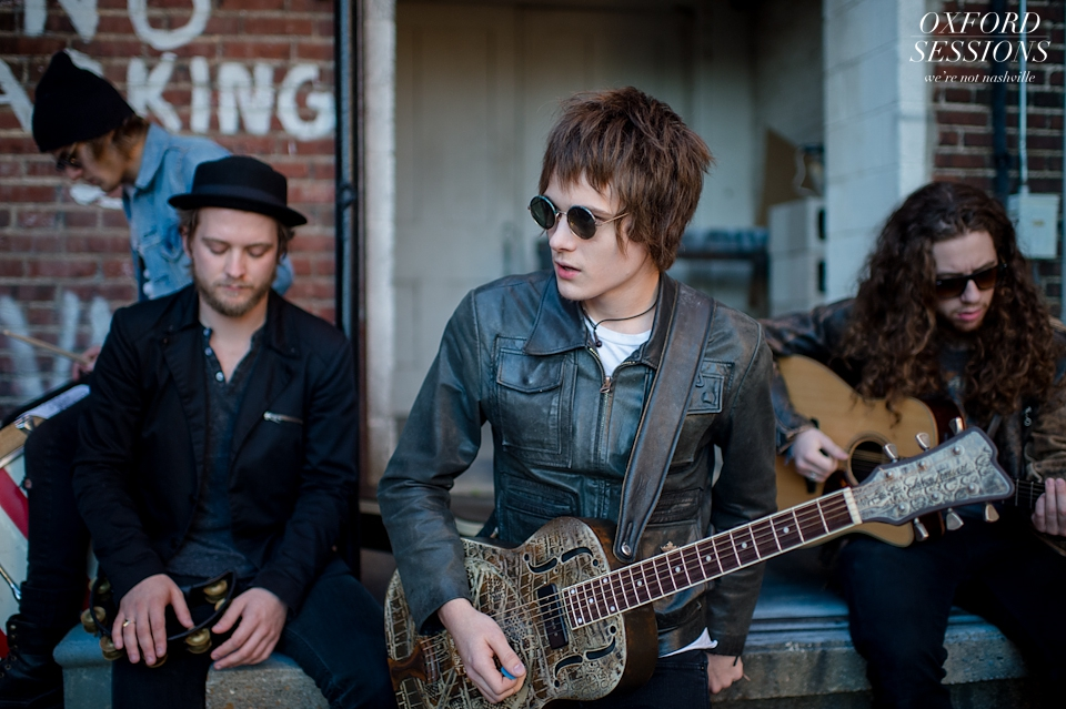 Mississippi Music Photos of Tyler Bryant and the Shakedown's Oxford Session
