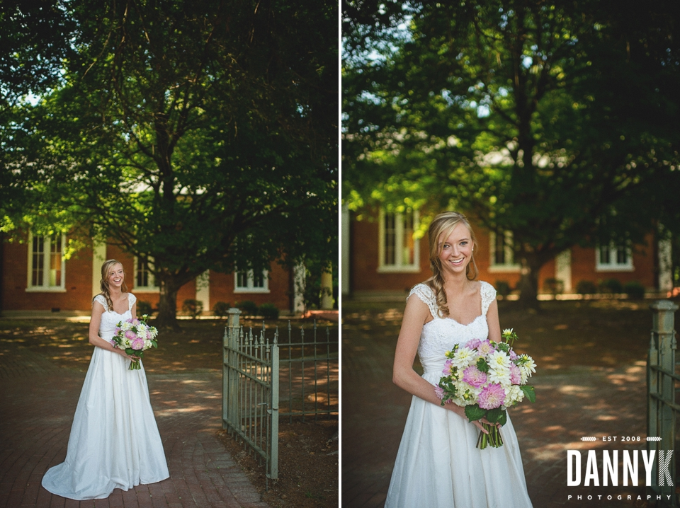 Bridal and MS Wedding Photographer at College Hill Presbyterian Church
