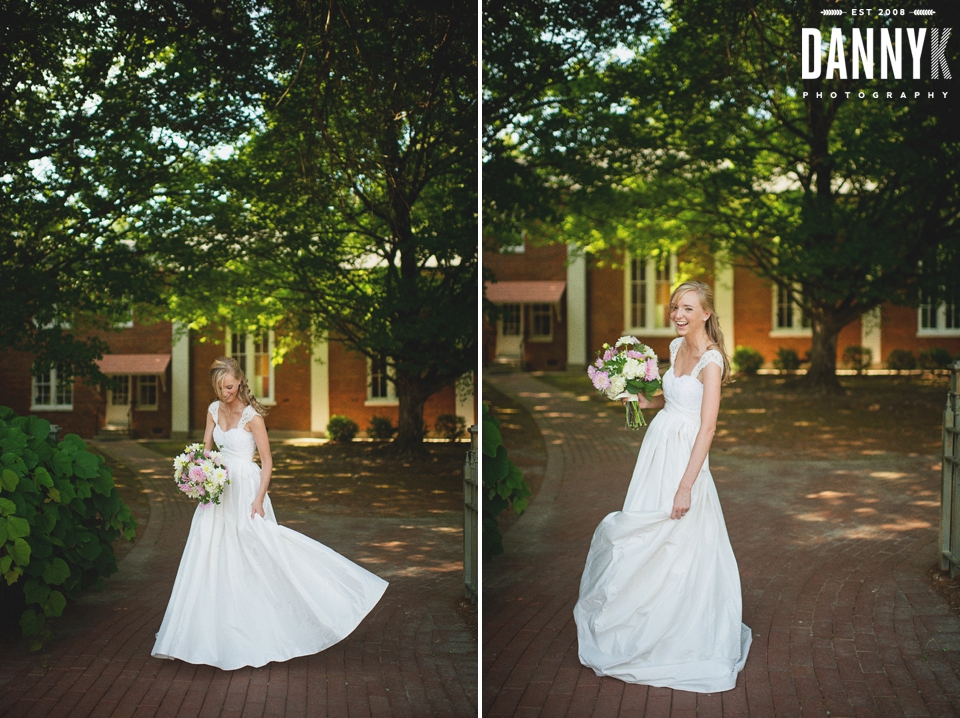 Bridal and Mississippi Wedding Photography at College Hill Presbyterian Church
