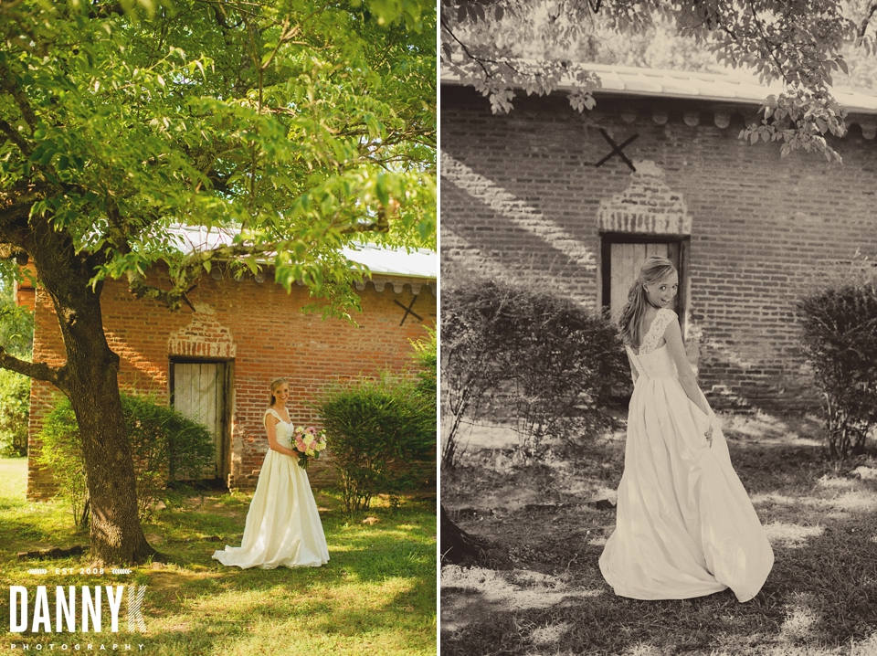 Oxford Bridal and Mississippi Wedding Photography at Rowan Oak