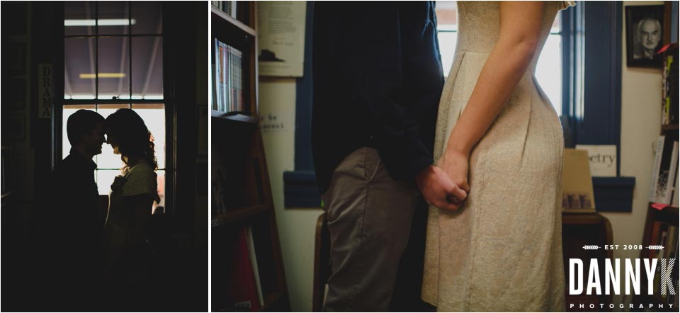 Oxford Mississippi Engagement Photography at Square Books