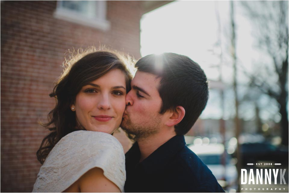 Oxford Mississippi Engagement Photography on the historical Square