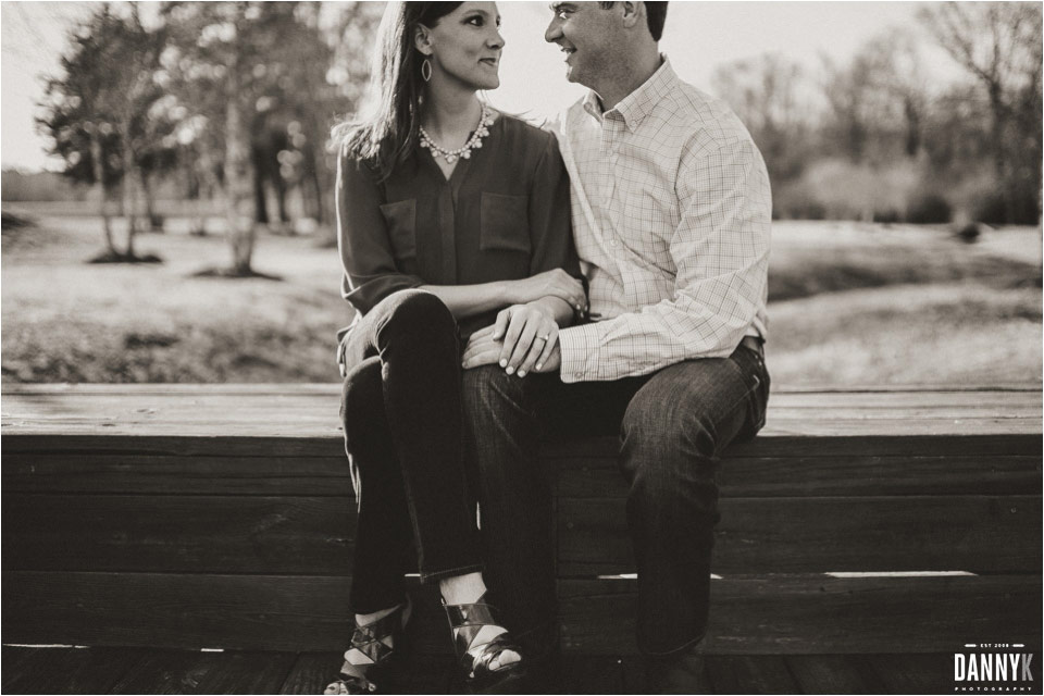 An Oxford Mississippi engagement at Lamar Park and Patsy lake