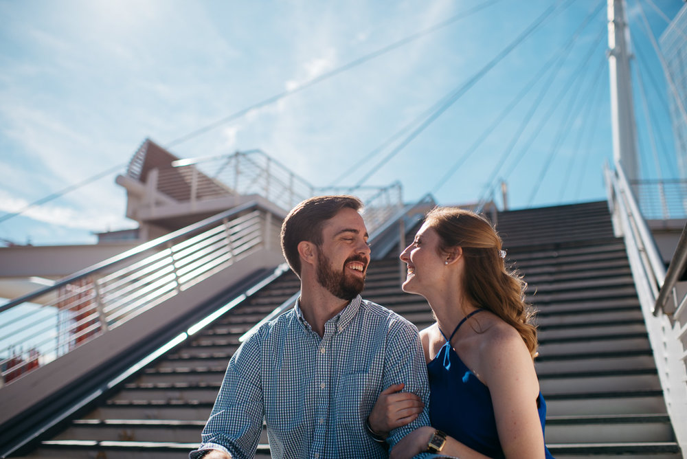 Downtown Denver engagement session