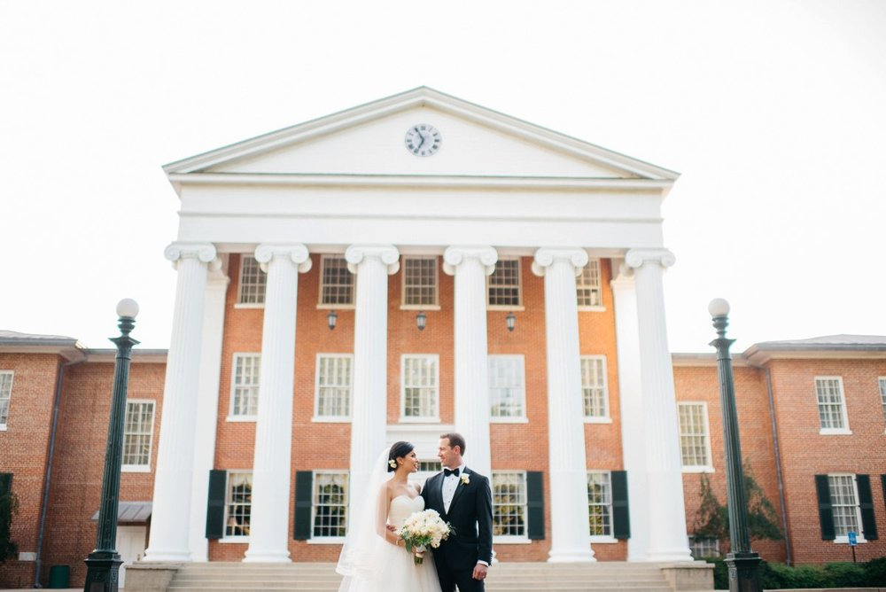 Mississippi Wedding Photography at the lyceum on the Ole Miss Campus