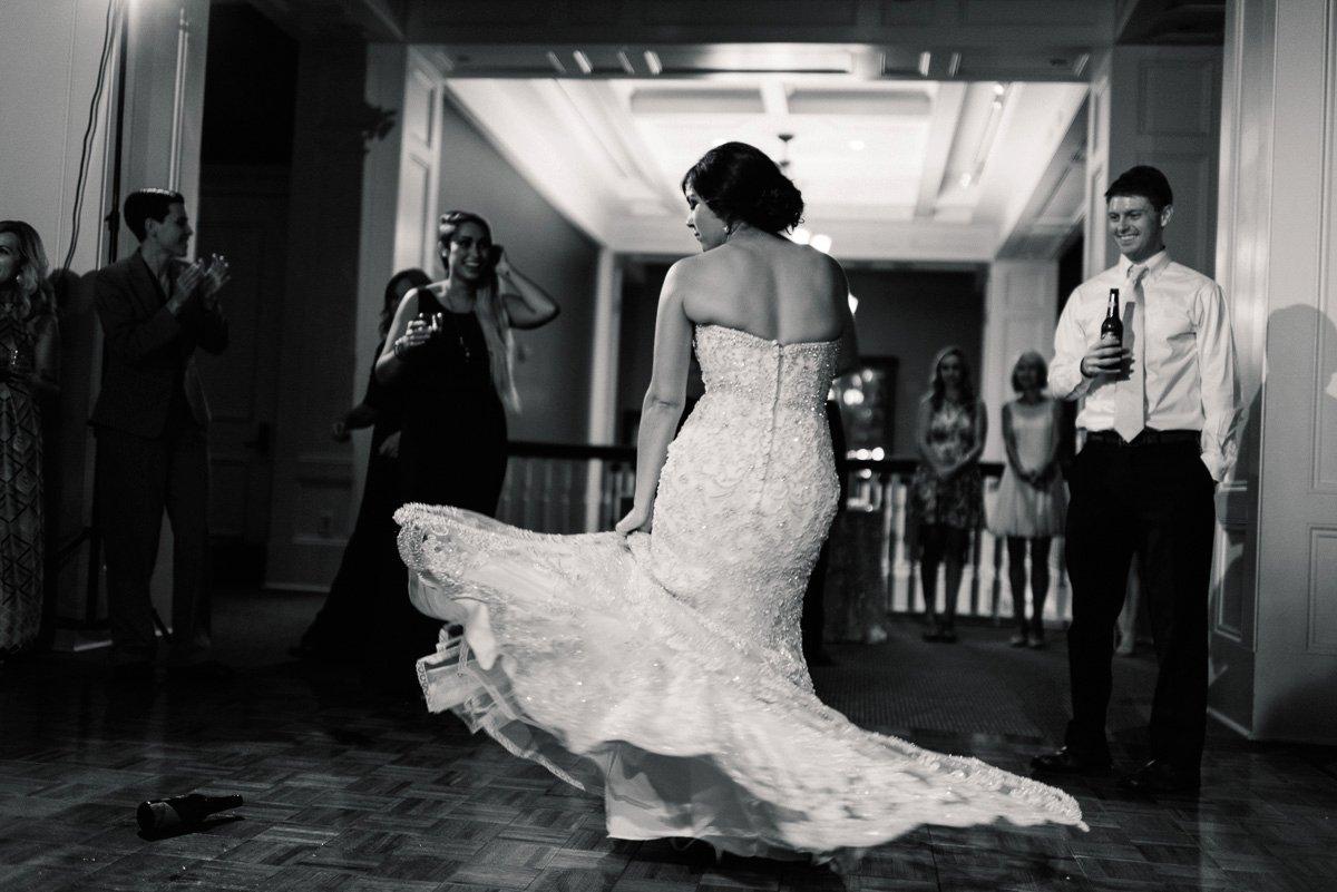 reception photography at biloxi visitors center by biloxi mississippi wedding photographer