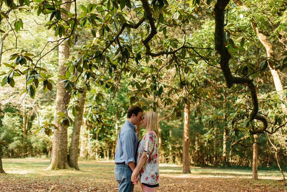 mississippi engagement photography at rowan oak in oxford