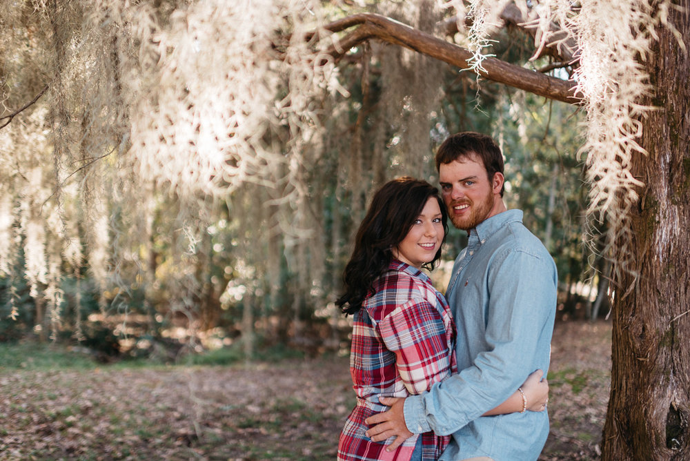 Engagement photography at Grand Gulf Military Park near Vicksburg, Mississippi