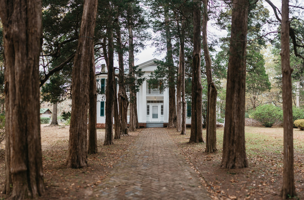 Faulkner's home at Rowan Oak, Oxford, MS
