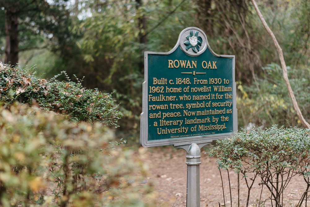Rowan Oak, Oxford, MS