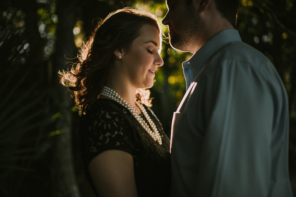 Engagement photography at Eden Gardens State Park in Santa Rosa Beach Florida