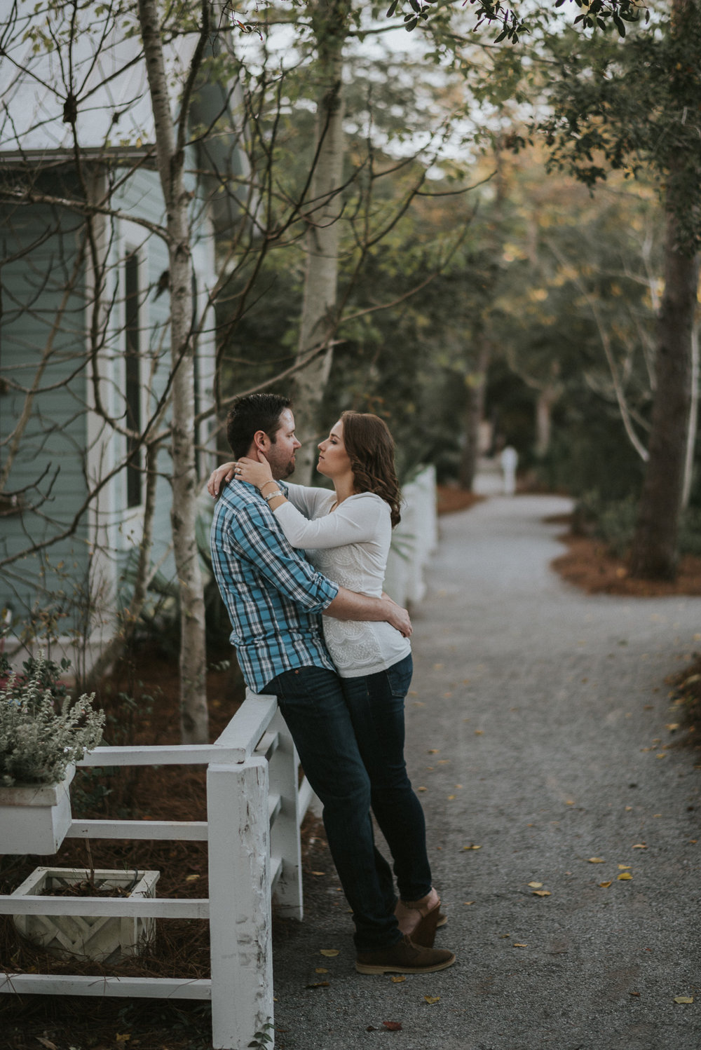Destiniation Engagement photography at Seaside, Fl
